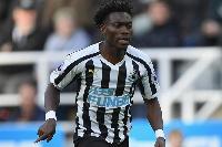 Newcastle United winger Christian Atsu