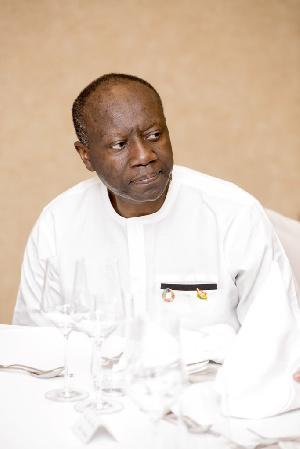 Ken Ofori Atta Finance Minister 2