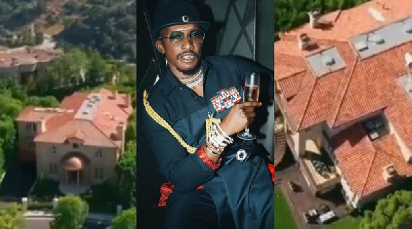 Watch Ghanaian 'billionaire' Cheddar's GHC39 million mansion in California