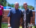 John Mahama and Bright Kumordzie
