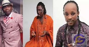 Counselor Lutterodt, Kwaku Bonsam and Anokye Supremo