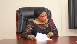 Foreign Affairs Minister Shirley Ayorkor Botchwey Mourn Annan