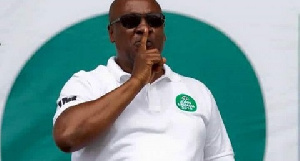 John Mahama Begins Cam