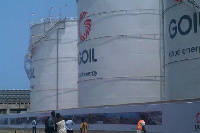 The 13.5 million litre facility is stationed at the Takoradi Harbour