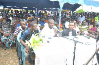 Some angry youths of NPP in Ellembelle organised a press conference to express their displeasure