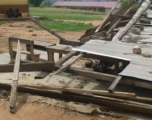 The storm which happened during school hours would have affected the pupils if they were not home
