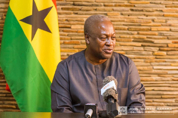 Mahama has no intention to cause chaos - NDC
