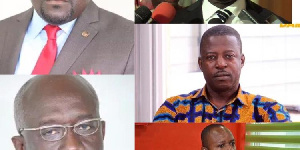 File Photo of some of the MPs that lost in the just ended NPP primaries
