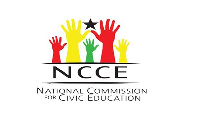 Logo of the National Commission for Civic Education (NCCE)
