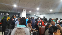 Some athletes, officials and journalists stranded at Murtala Mohammed Airport in Lagos