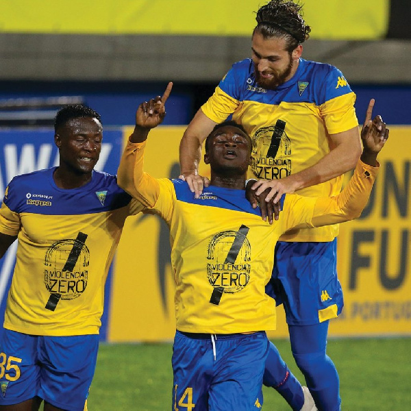 Abdul Aziz Yakubu on target for third time in Portuguese second-tier for Estoril