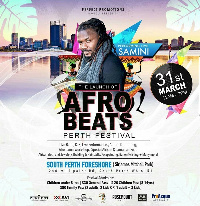 Samini has been billed to perform with other stars in Australia