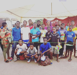 The tournament was in partnership with the Ghana National Table Tennis Association