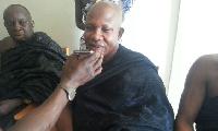Nana Kutin Amoah III, President of Assinman Traditional Council