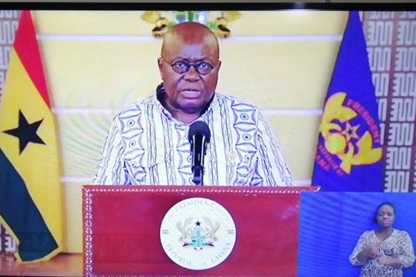 President Akufo-Addo grateful to Ghanaians