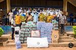Okuapemhene donates to Schools in Akropong