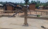 Only one borehole serves the whole Kotokuom community