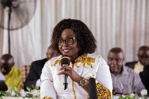 Comfort Owusu, Executive Director of the Association of Rural Banks Ghana