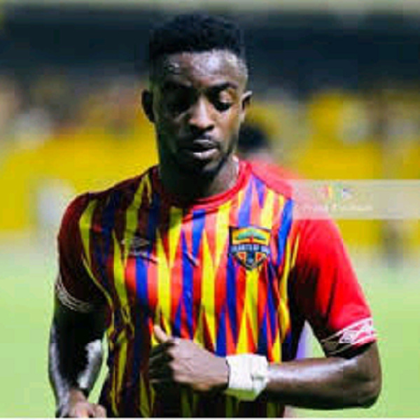 Our target is to beat Wydad AC on Sunday - Hearts midfielder Ansah Botchway
