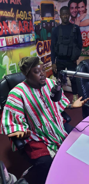 Samson Asaki, flagbearer hopeful of the People's National Convention Party (PNC)