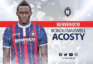 Striker Maxwell Boadu Acosty