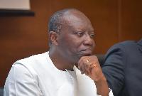 Finance Minister, Mr Ken Ofori-Atta