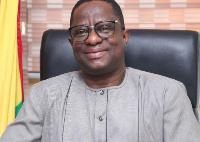 Minister of Railways Development, John-Peter Amewu