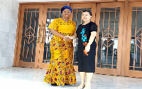Sarah Adwoa Safo, Minister of State in charge of Public Procurement with H.E. Mdm. Sun Baohong
