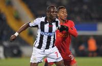 Udinese midfielder Agyemang Badu