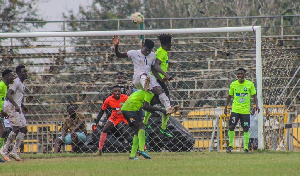 Black Meteors engaged Dreams FC in a friendly