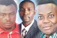 Montie 3: Alistair Nelson, Godwin Ako Gunn, and Salifu Maase, alias Mugabe