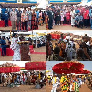 Some Diasporans were in Jamestown to mark the Year of Return