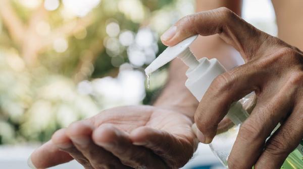 [File Photo] Hand Sanitizer