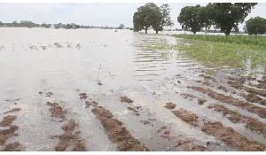 Floods caused by the Bagre Dam spillage