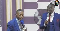Rev Owusu Bempah and his interpretor