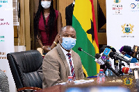 Director-General of the GHS, Dr Patrick Kuma Aboagye
