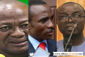 In the lead to make the top three are incumbent Osei Assibey Antwi, Kennedy Kankam and Sam Pyne