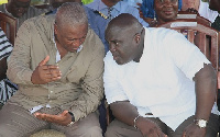 Majority side in Parliament is accusing Former President Mahama of having a hand in the 'rot'