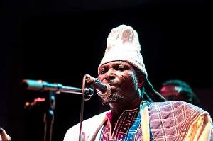 Ghanaian traditional musician, King Ayisoba