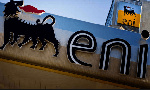 File photo of Eni's logo