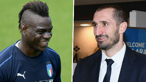 \'I made a mistake\' - Chiellini apologises to Balotelli after slamming striker in autobiography
