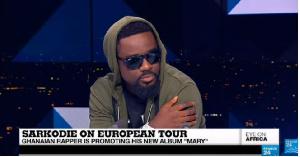 Sarkodie talks to France24