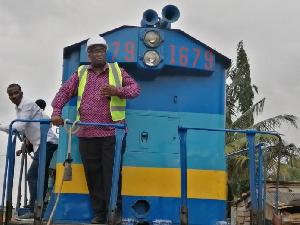 Joe Ghartey, Railway Minister