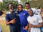 New Hearts of Oak coach Samuel Boadu meets players