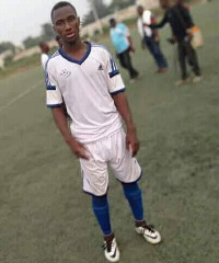 Elisha Owusu died on Monday
