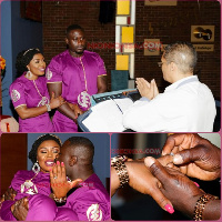 Afia and husband married weeks ago in South Africa