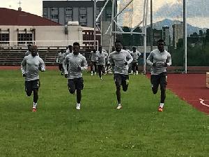 Black Stars Kenya Training 1