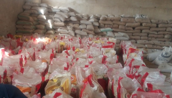 GRA impounds smuggled goods at Balungu Barrier