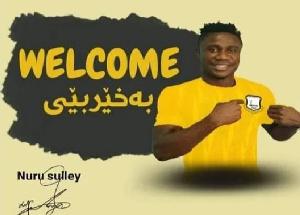 Hearts of Oak defender, Nuru Sulley