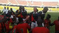 Ghana defeated Benin  46-5